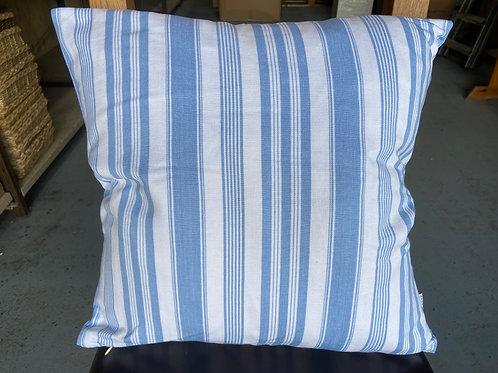 Cushion -Wide Seaside Stripe
