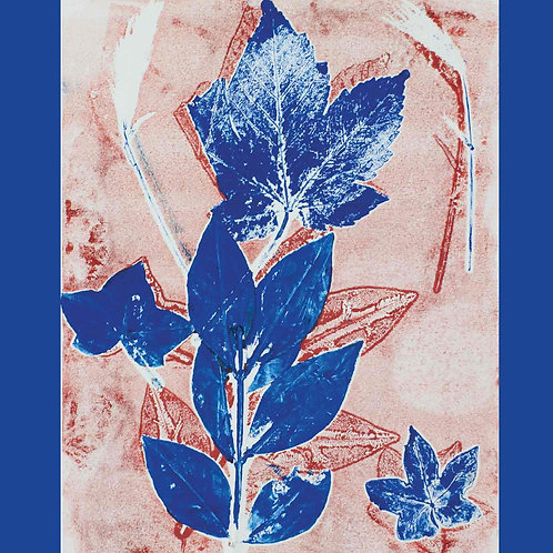 Dry Red Card -Dancing Leaves