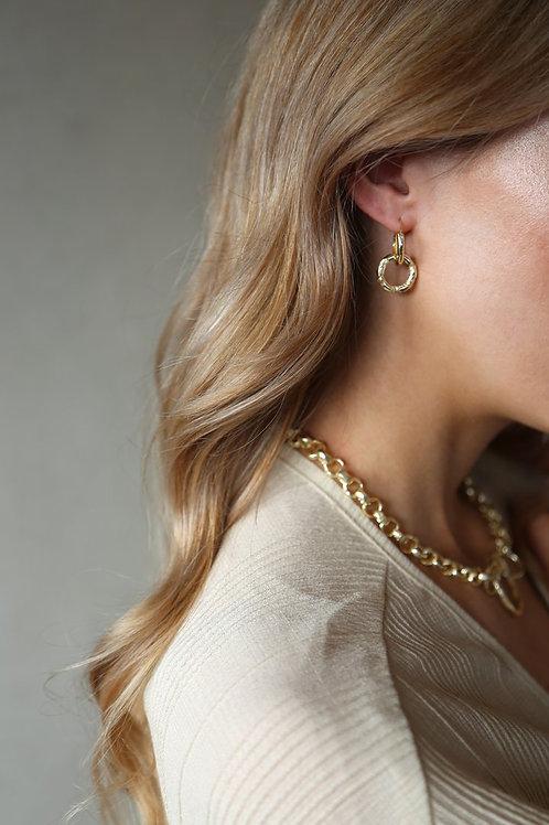 Ash Earring Gold