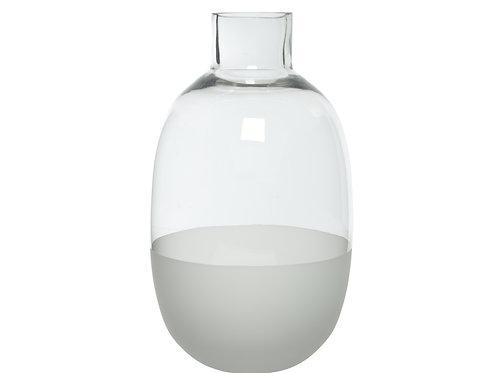 Glass Sandblast Vases