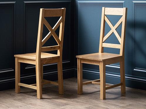Henley Oak Crossback Dining Chair