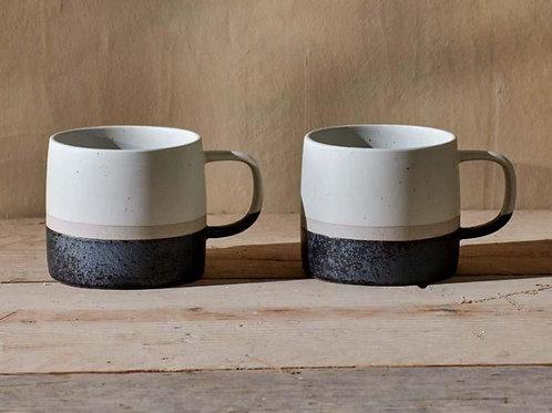Nkuku Enesta Dipped Mug Cream