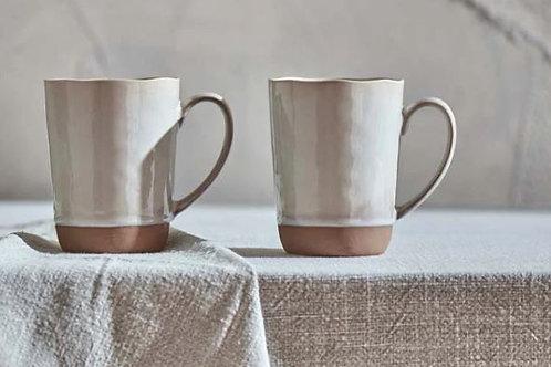 Nkuku Edo Mug Large - Terracotta