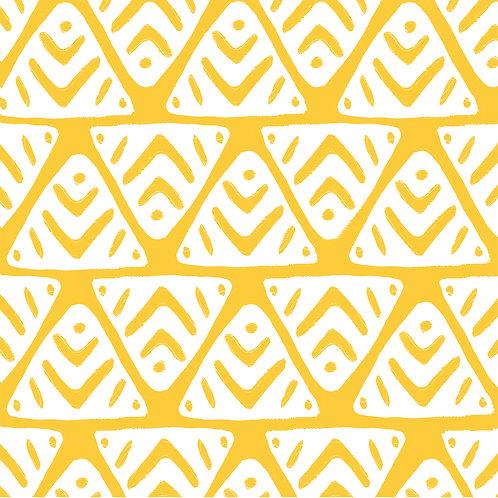 Paper Napkin Africa Yellow