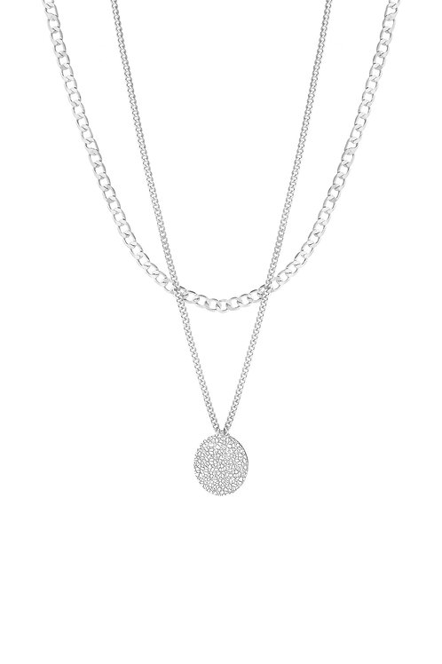 Surface Necklace Silver