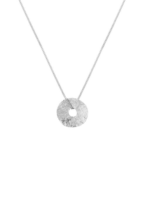 Sole Necklace Silver