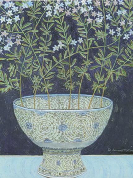 Canns Down Card - Jasmine Flowers