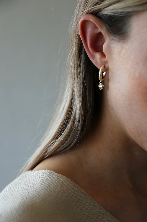 Courage Earing Gold