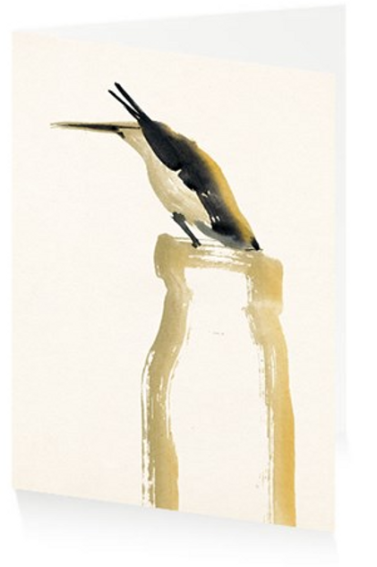 Art Press Card - Bird