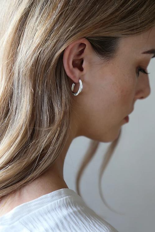 Ember Earring Silver