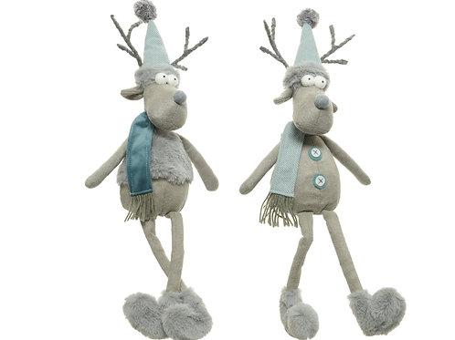 Funky Toy Reindeer with floppy legs