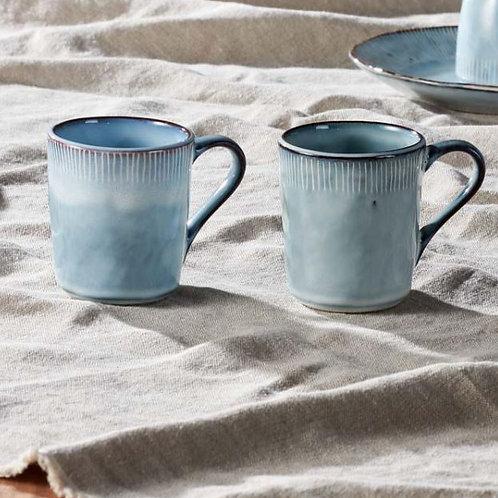 Nkuku Malia Mug Dusty Blue