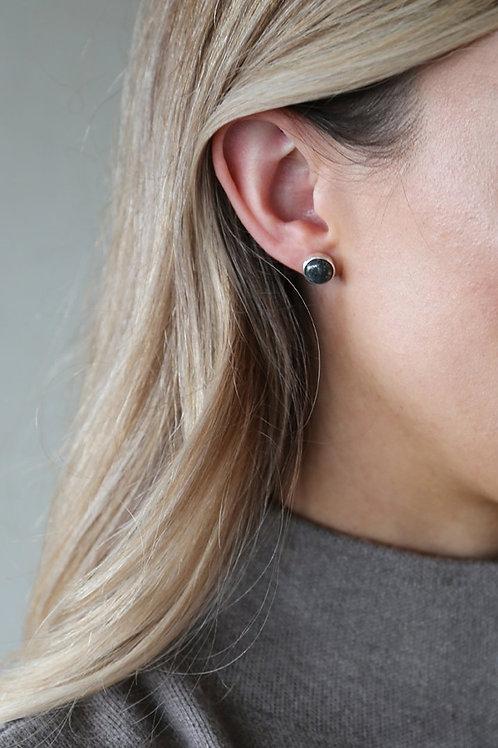 Marcasite Earring Silver