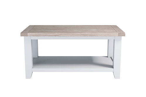 Pavilion Grey Coffee Table w/shelf