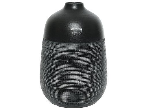 Ceramic Black Vase