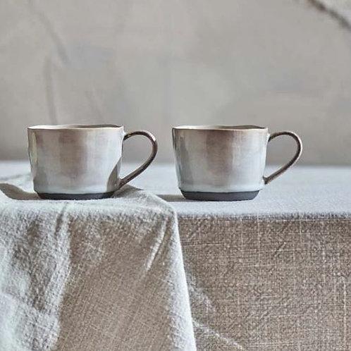 Nkuku Edo Mug Small - Slate