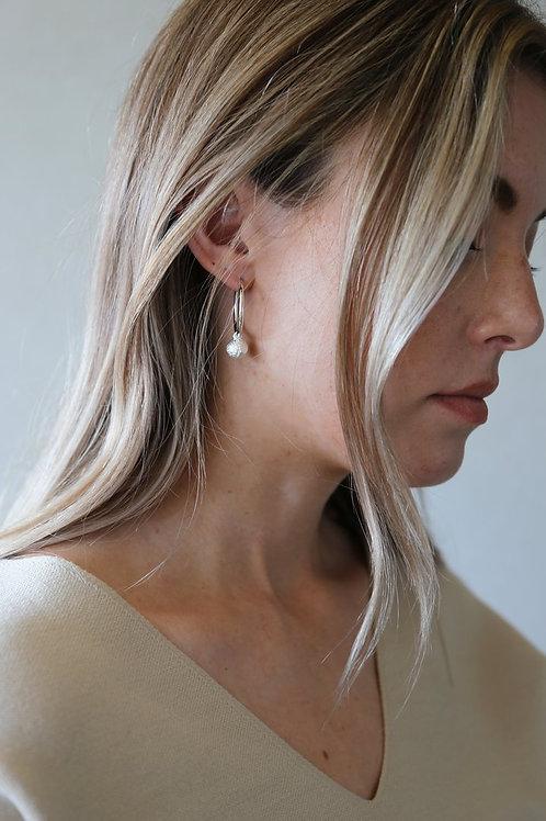 Evolve Earring Silver