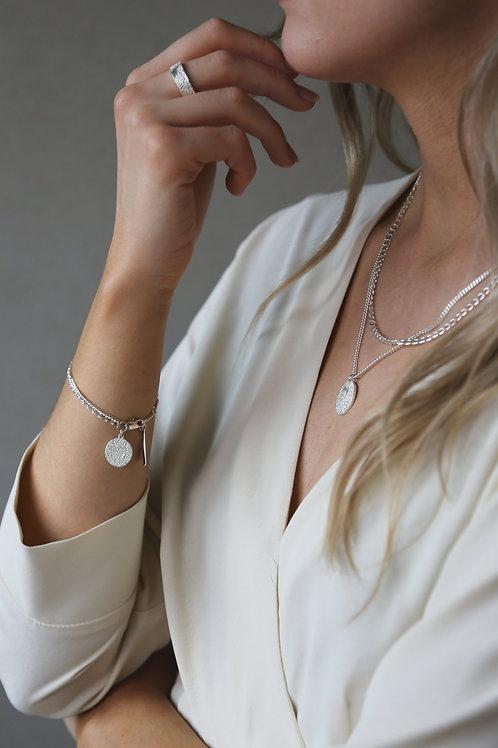 Surface Bracelet Silver