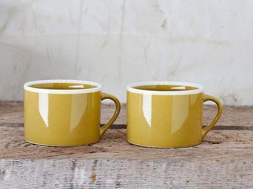 Nkuku Mug Datia Large -Mustard