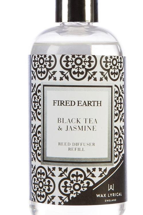 Fired Earth Refill Bottle 200ml -Black Tea & Jasmine