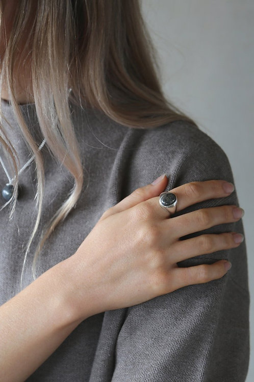 Marcasite Ring Silver