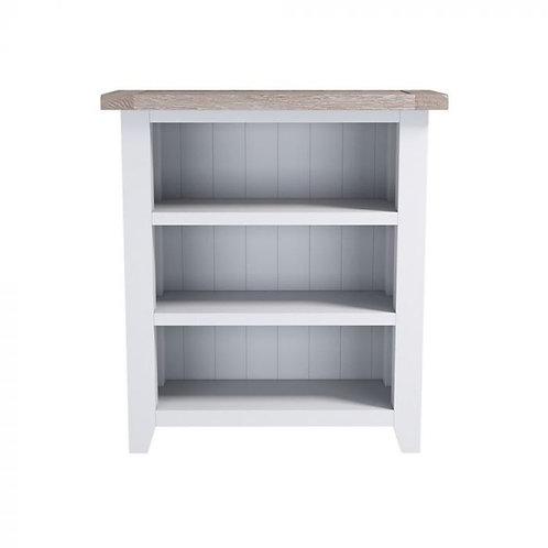 Pavilion Grey Low Bookcase