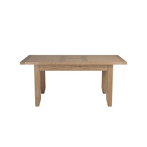 Plain Oak Extending Dining Table