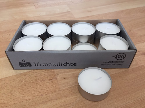 Maxi Tealights Pack of 16