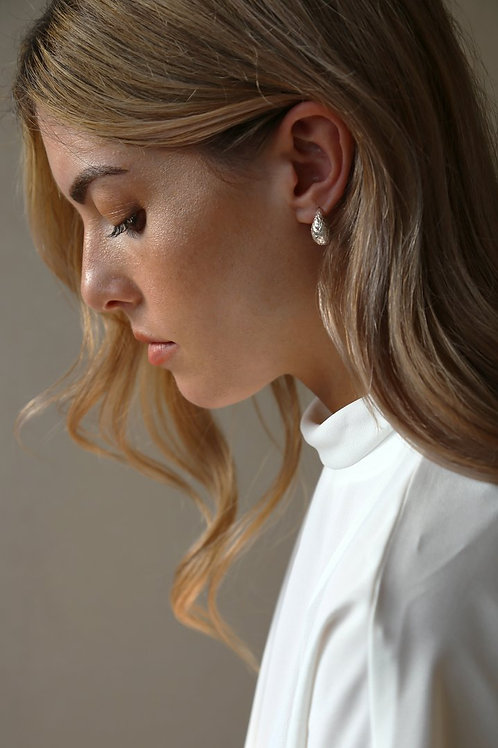 Dome Earring Silver