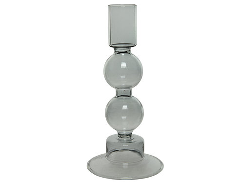 Glass Bauble Candle Holder