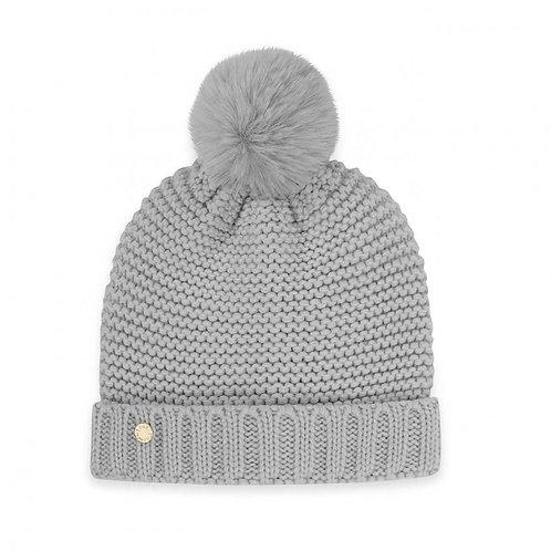 Katie Loxton Chunky Knit Hat -Grey