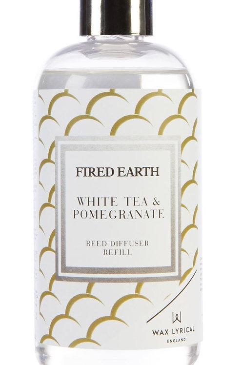 Fired Earth Refill Bottle 200ml - White Tea & Pomegranate