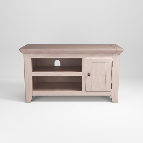 Smoke Oak Small TV Unit