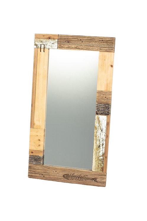Shoeless Joe Rectangular Wooden Mirror