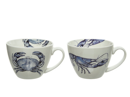 Porcelain Mug Lobster/Crab