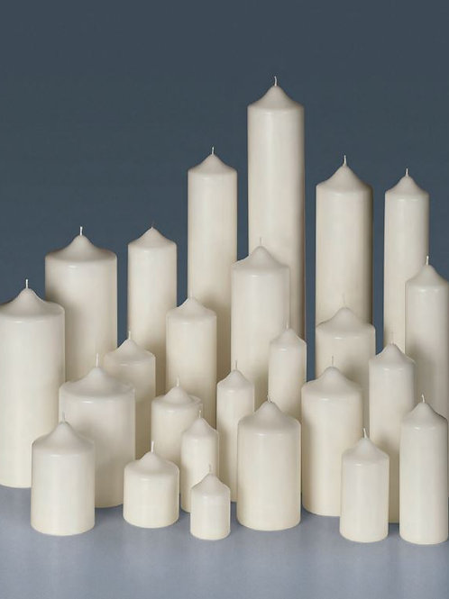 Classic Church Pillar Candles