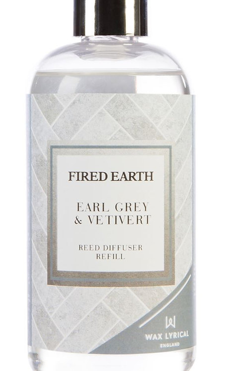 Fired Earth Refill Bottle 200ml - Earl Grey & Vetivert