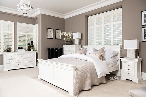 White King Bed