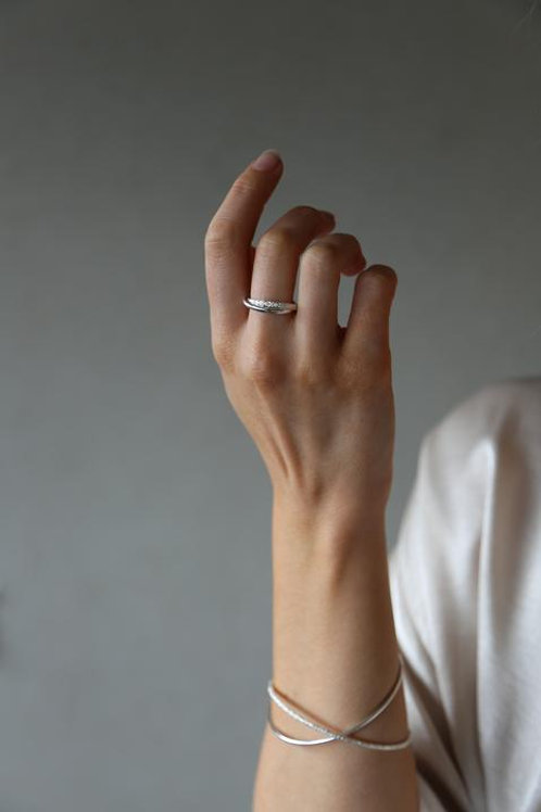 Ember Ring Silver