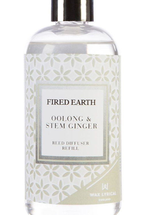 Fired Earth Refill Bottle 200ml  - Oolong & Ginger