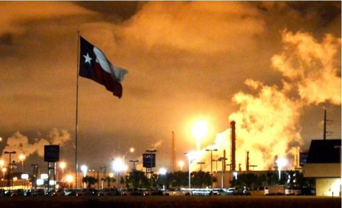 Texas air pollution and climate change