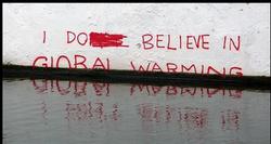 I do believe in global warming