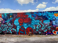 Fresh Fest Collab Wall