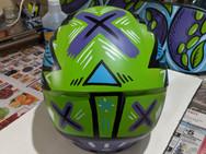 Wings Helmet (back)