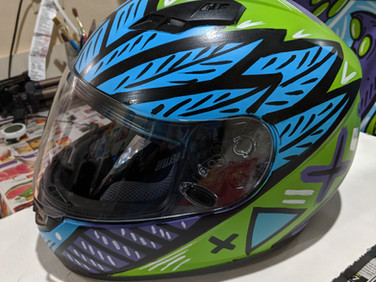 Wings Helmet (side)