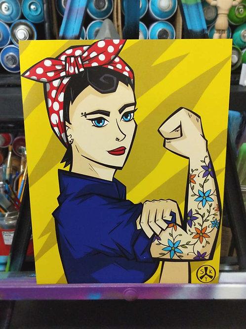 Badass Rosie Poster