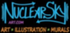 Nuclear Sky Art Logo