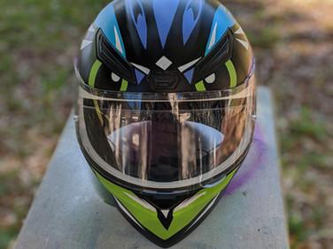 Owl Helmet (front)