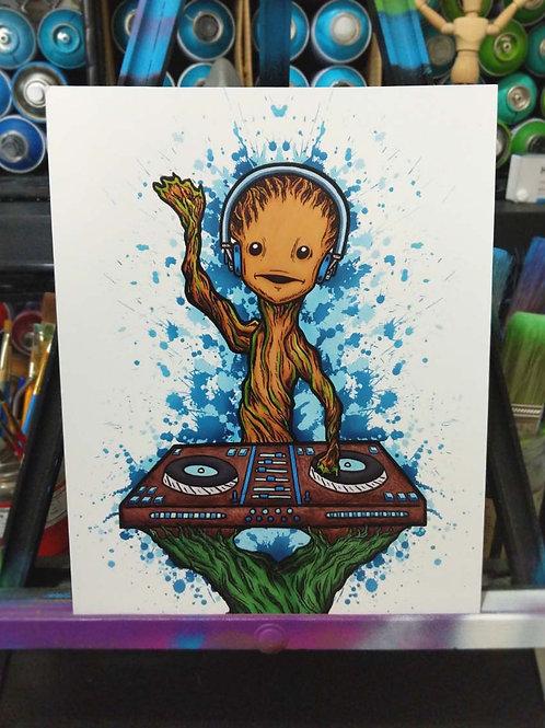 DJ Groot Poster