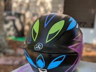 Owl Helmet (back)